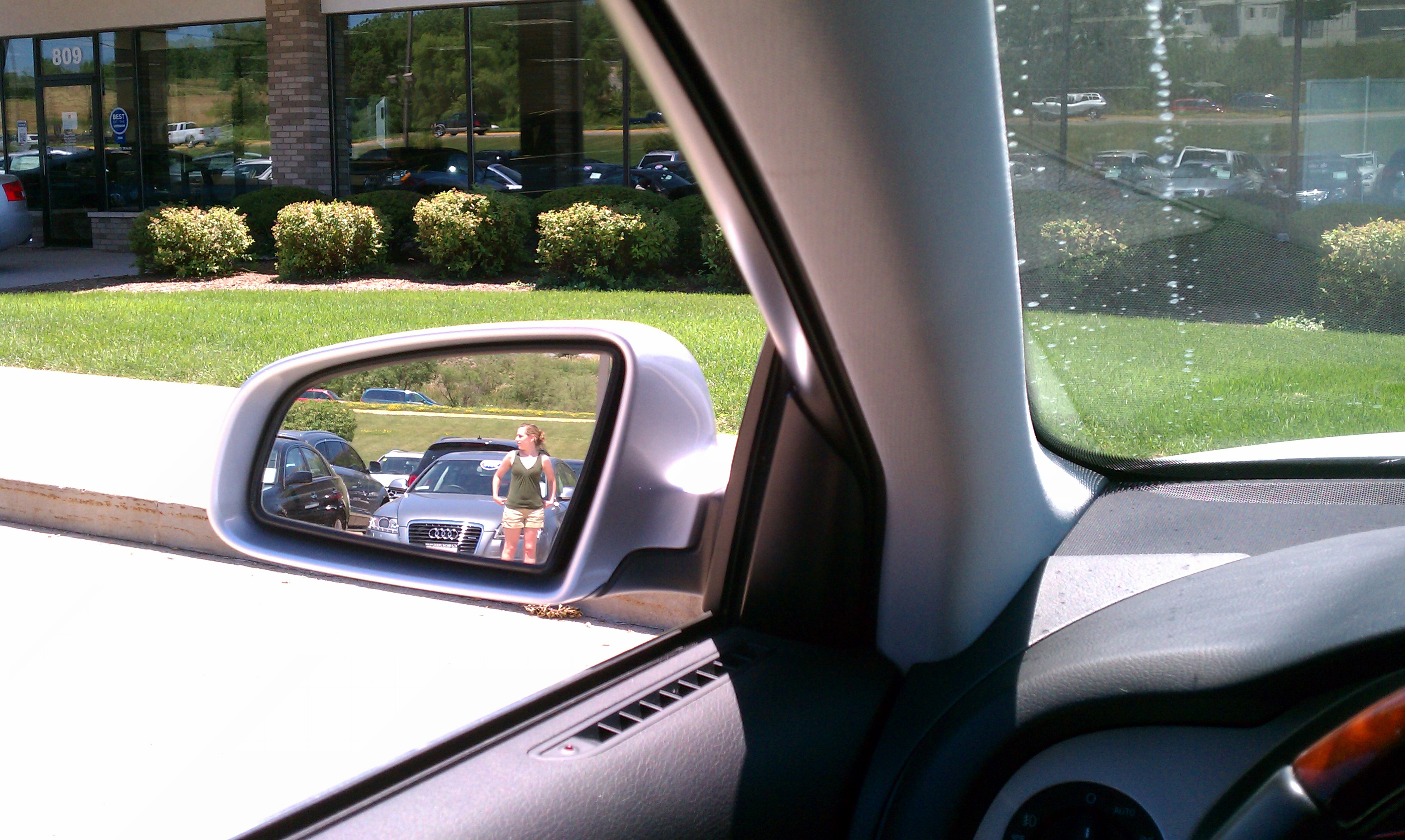 Luxury How To Properly Set Your Car Side View  Exterior Mirrors