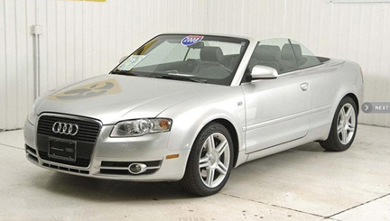 2 2008 Audi A4 Cabriolet In Stock At Carousel Motors