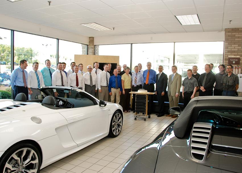 Carousel Motors Receives Its Th Audi Magna Society Award For - Carousel audi