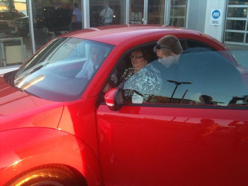 Carousel Motors Delivers VW Beetle to Oprah's Favorite