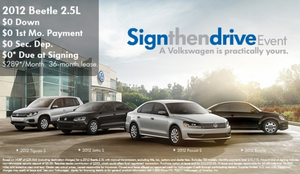 sign  drive  vw  carousel motors     months payment  security