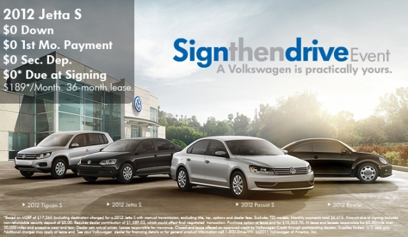 Sign Then Drive With Vw And Carousel Motors Zero Down