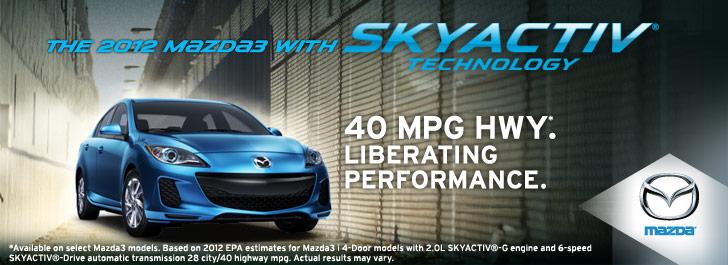Skyactiv Technology By Mazda 40 Mpg On A Sedan Now